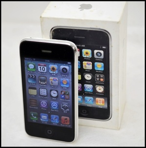 SB iPhone3GS 32GB ホワイト1.JPG