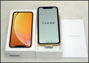 au iPhone XR 64 黄 SA1.JPG